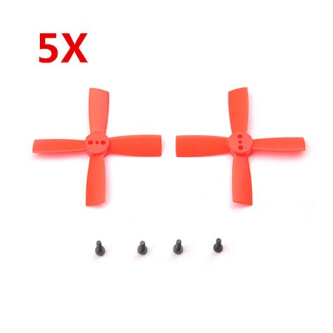 10 Pairs Racerstar 2035 50mm 4 Blade Abs Propeller 1 5mm Mounting buy 5 pairs eachine 2035 50mm 4 blade propellers abs for