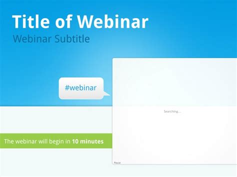 Webinar Decks Popular Sles Templates Webinar Presentation Template