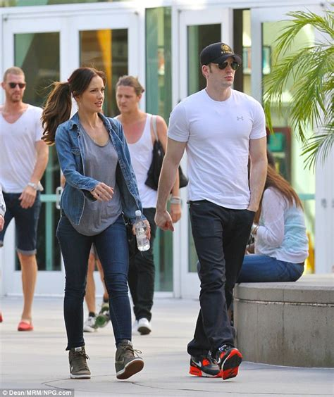 godfrey gao namorada chris evans and lily collins step out for the first time