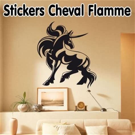 Stickers Pas Cher 2199 by Stickers Cheval Flamme Pas Cher 183 184 184 Stickers