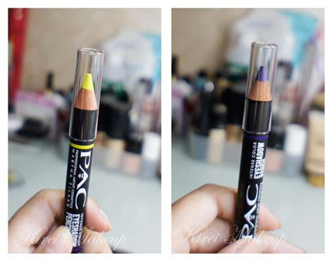 Eyeshadow Pac product review pac color eyeshadow pencil kirei