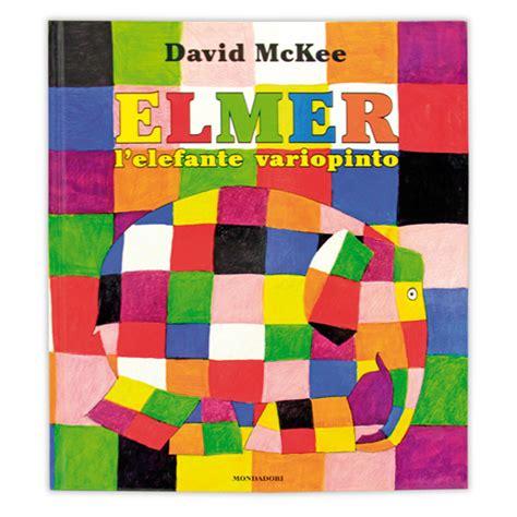 libro elmer libro album illustrato italiano elmer l elefante variopinto