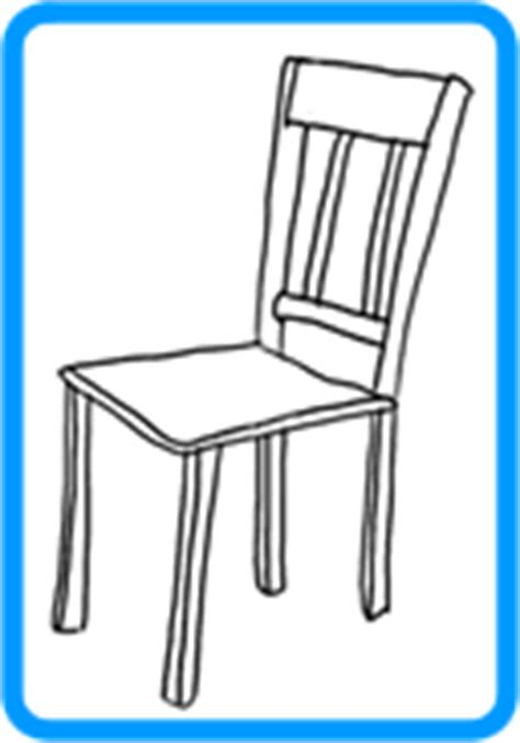 How To Draw A Chair by Pics For Gt Simple Chair Drawing