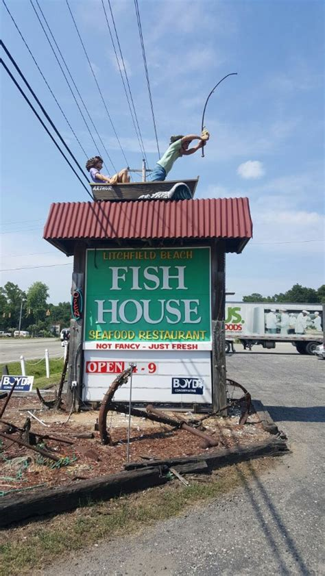 Litchfield Beach Fish House Pawleys Island Restaurant Litchfield Fish House