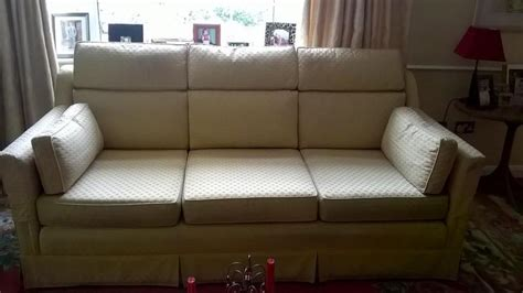 Harrods Sofa by Harrods 3 Seater Sofa 2 Armchairs And 1 Foot Stool In