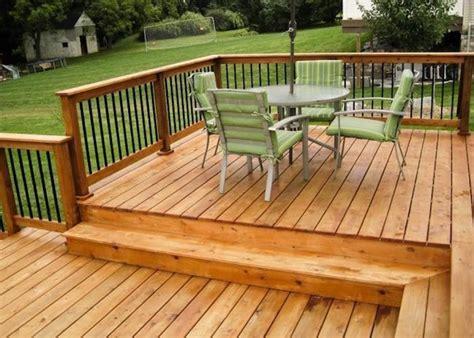 Wood Patios by Wood For Decks Bob Vila