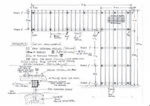 draw deck drawing deck plans pdf woodworking