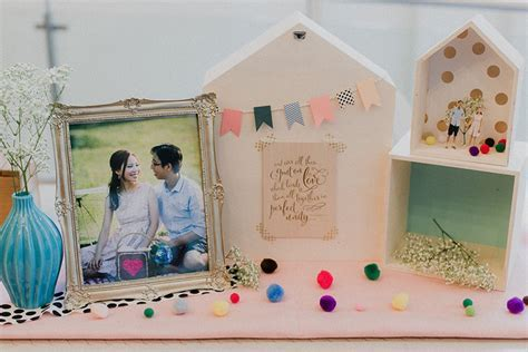 Dawn and Ming's Bright and Modern Wedding at Singapore