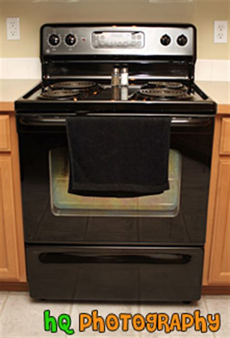 kitchen stove black kitchen stove photo