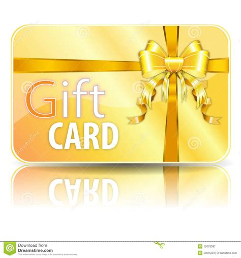 Generic Gift Card - gift card royalty free stock photography image 12075397