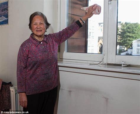 cleaner jobs glasgow glasgow grandmother perches perilously on a window ledge
