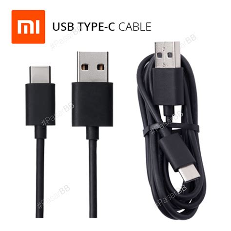jual kabel data xiaomi type c mi4c original ori 100 micro