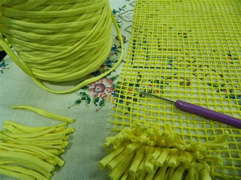 alfombra de nudos artes anas alfombra de trapillo con nudo a mano o con