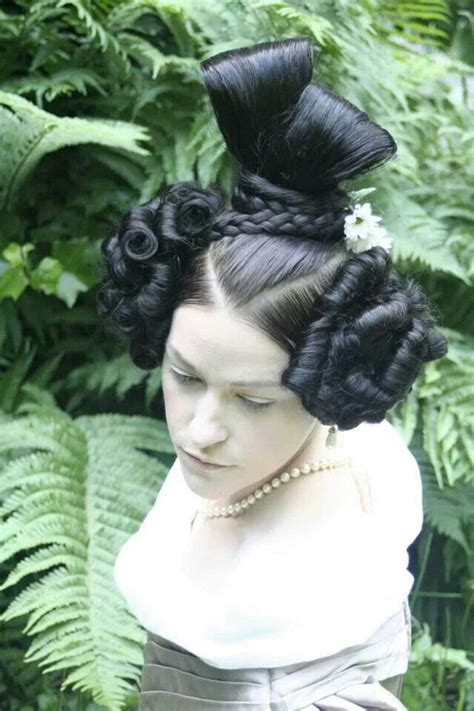 Hairstyles From 1830s | amazing 1830 s hairstyle historical hairstyles pinterest