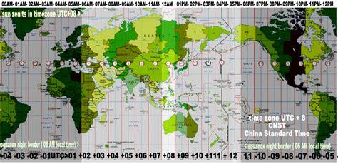 utc map world time zones utc gmt 8 cnst china standard time