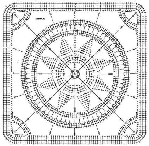 chart pattern pinterest crochet square chart pattern crocheting pinterest