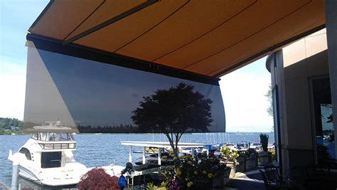 sunrise awnings seattle retractable awnings sunrise shading