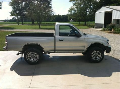 2 Door Toyota Tacoma Purchase Used 2000 Toyota Tacoma Pre Runner Standard Cab
