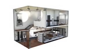 3d House Floor Plan proyecto varios loft industrial by an 243 nimo