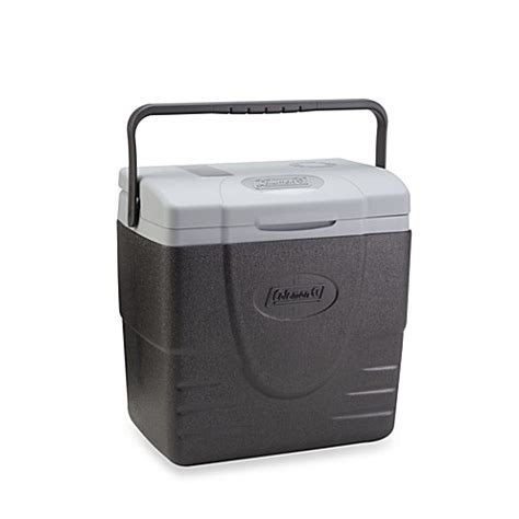 bed bath and beyond cooler coleman 174 16 quart powerchill thermoelectric cooler bed