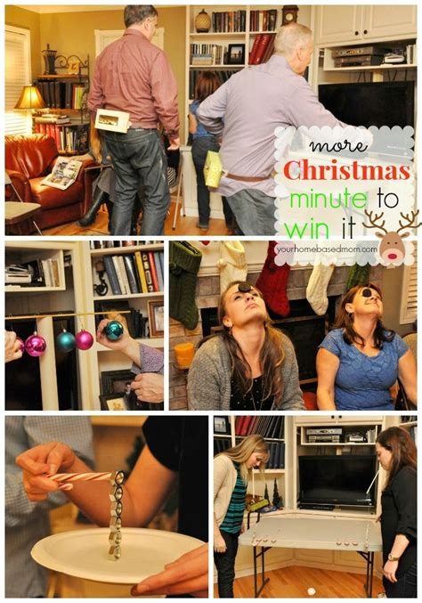 more christmas minute to win it games christmas parties