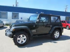 2010 Jeep Wrangler Sport 2010 Jeep Wrangler Sport Winnipeg Manitoba Used Car For