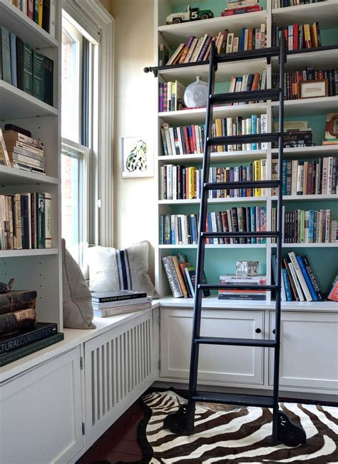 Rolling Ladder For Bookcase Style Guide How To Decorate Your Bookcases Like A Pro Betterdecoratingbiblebetterdecoratingbible