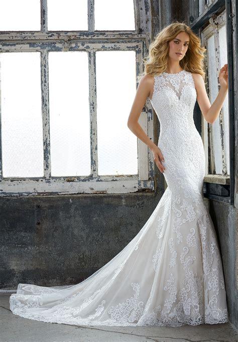 Wedding Prom Dress by Krista Wedding Dress Style 8205 Morilee