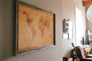 diy corkboard map gimme some oven