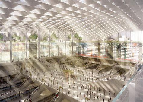 Square Garden Penn Station wordlesstech four top architects re envision penn