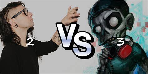 imagenes en 3d de skrillex skrillex vs zomboy