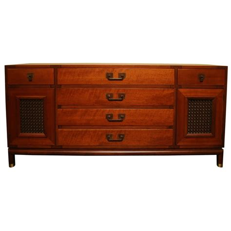 Johnsons Furniture by Bert Walnut Sideboard For Johnson Furniture For Sale At 1stdibs