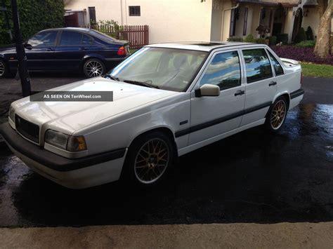 1996 volvo 850 turbo 1996 volvo 850 turbo with manual transmission