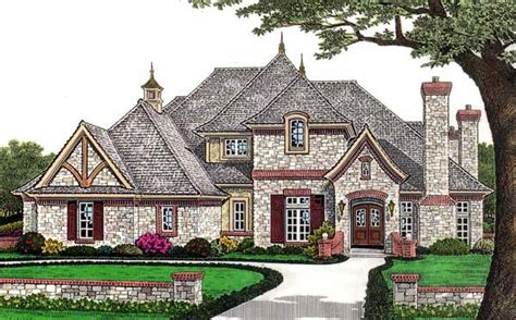 get a european country look in your home cozyhouze com house plan 66110 at familyhomeplans com