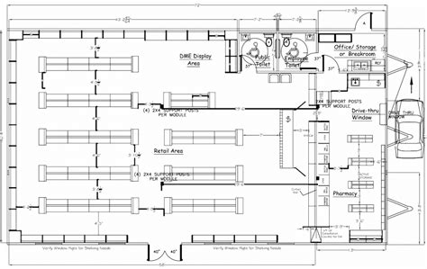 pharmacy floor plan wilkins builders modular buildings for pharmacies and