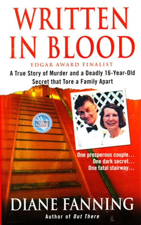 in and blood spellster series books diane fanning author of true crime books and mystery novels