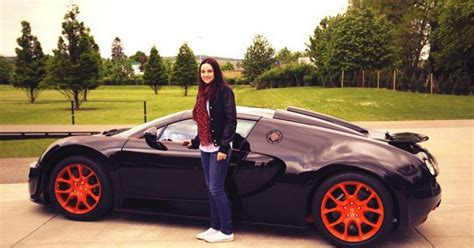 pop star amy macdonald gets the chance to test drive 163 2m