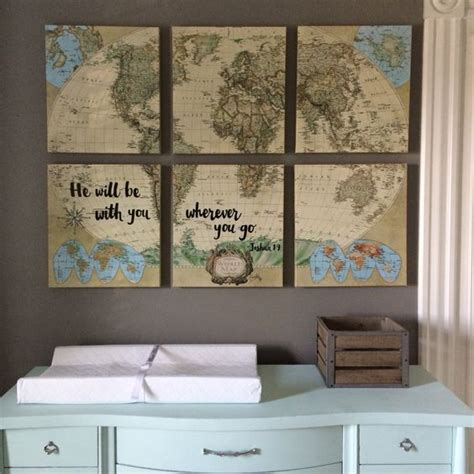 travel themed bedroom 20 awesome boy s nursery artwork ideas shelterness