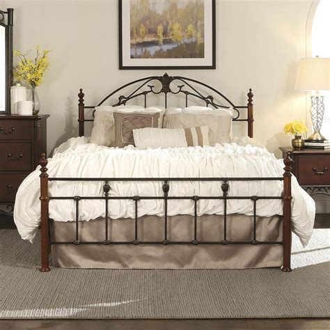 queen bed rails for headboard metal panel bed headboard footboard rails metal slats