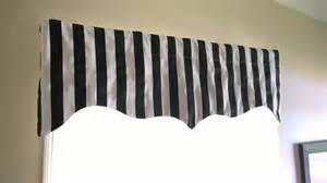 Black And Valance Black And White Scalloped Valance Black And White Stripes