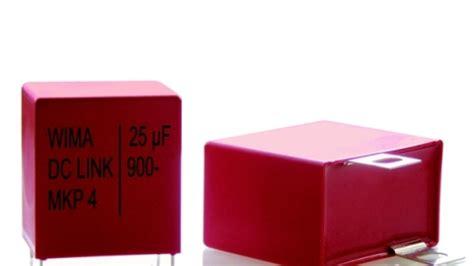 dc link capacitor wima sulfuration of resistors