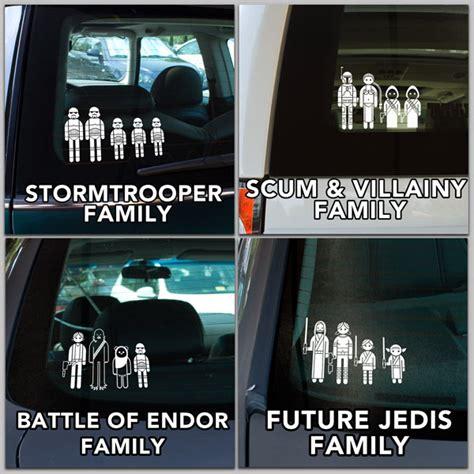 Auto Sticker Star Wars by Star Wars Family Car Decals