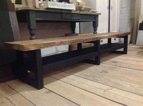 tv meubel van hout tv meubel hout soft black noten blad hillshome
