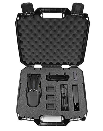 Dronesafe Rugged Mini Drone Carry Case Organizer With Import It All Mavic Pro Foam Template