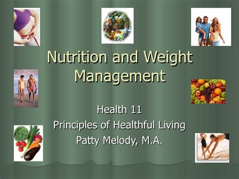weight management principles nutrition and weight management 2006
