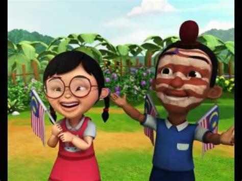 film upin ipin hari misteri upin ipin selamat hari malaysia youtube