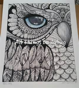 Color Your Own Owl About Me Posters » Ideas Home Design