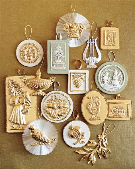martha stewart christmas crafts for adults go for the gold midas touches for a magnificent home martha stewart
