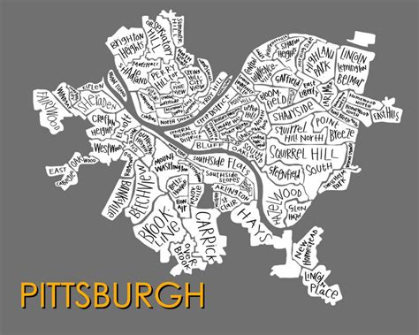 pittsburgh neighborhood map pittsburgh neighborhood map razblint