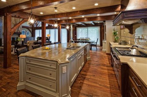 Also timber frame great room home plan in addition timber frame home